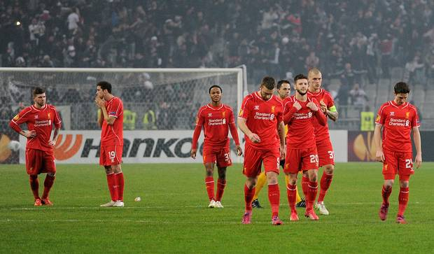 Liverpool dan Spurs tersingkir dari Europa League