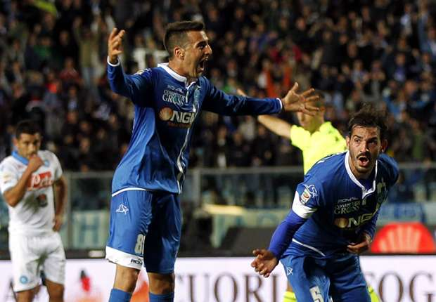 Empoli Mempermalukan Napoli 4-2
