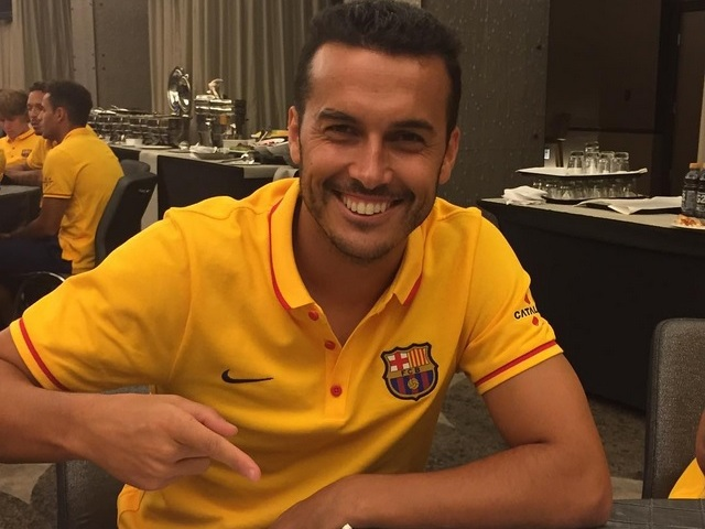 Pedro Tegaskan Tak Hengkang Dari Barcelona