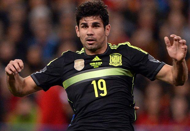 Spanyol siapkan penyerang terbaik Diego Costa