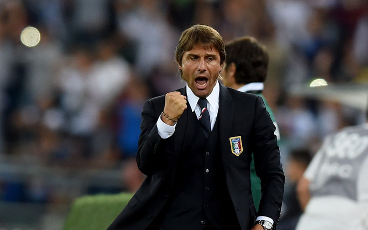 Antonio Conte Target Semifinal Euro 2016