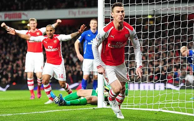 Arsenal Beruntung Kalahkan Leicester City