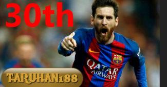Messi kini berulang tahun yang ke-30