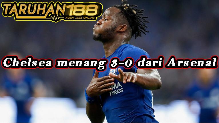 Chelsea menang 3-0 dari Arsenal