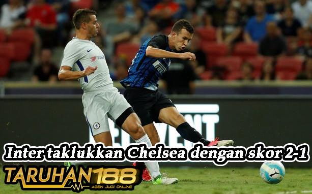 Inter taklukkan Chelsea dengan skor 2-1