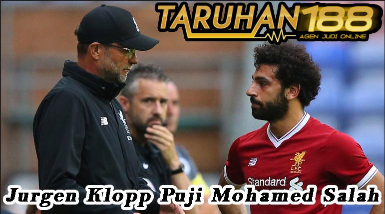 Jurgen Klopp Puji Mohamed Salah