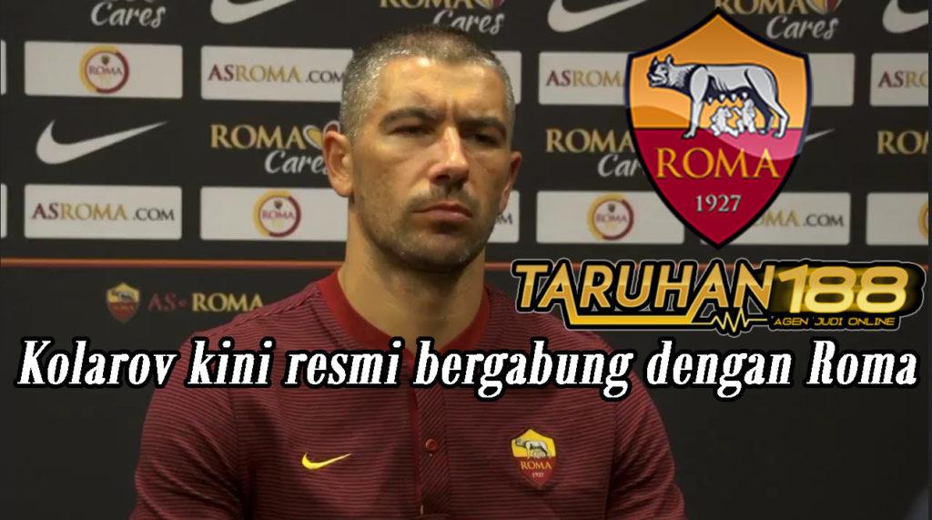 Kolarov kini resmi bergabung dengan Roma
