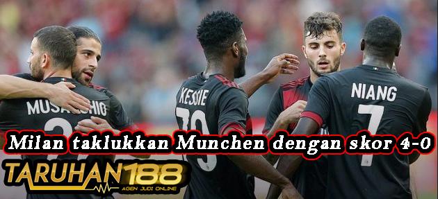 Milan taklukkan Munchen dengan skor 4-0