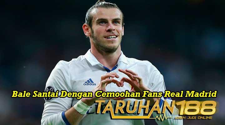 Bale Santai Dengan Cemoohan Fans Real Madrid