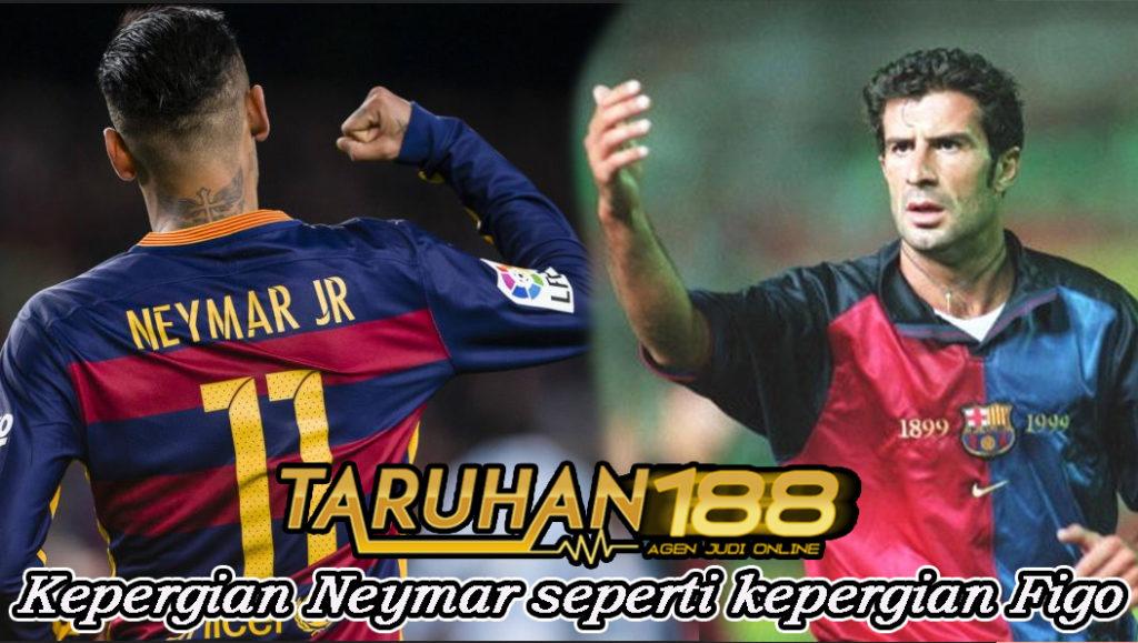 Kepergian Neymar seperti kepergian Figo