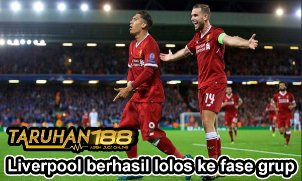 Liverpool berhasil lolos ke fase grup