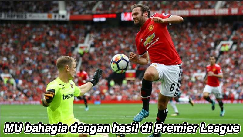 MU bahagia dengan hasil di Premier League