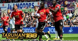 MU menang telak 4-0 dari Swansea