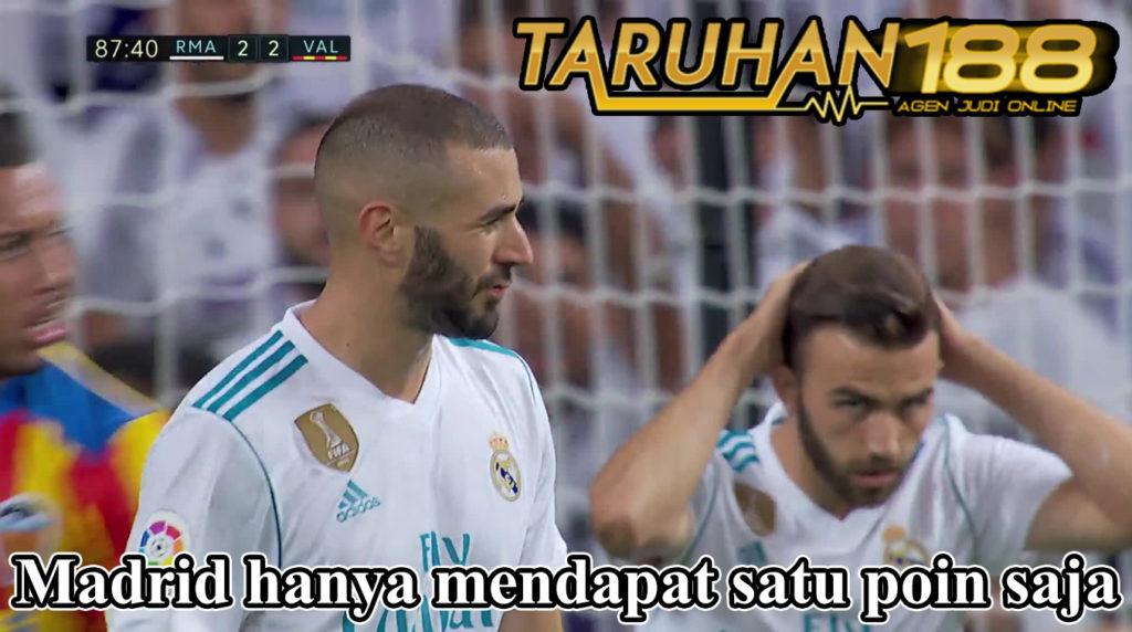 Madrid hanya mendapat satu poin saja