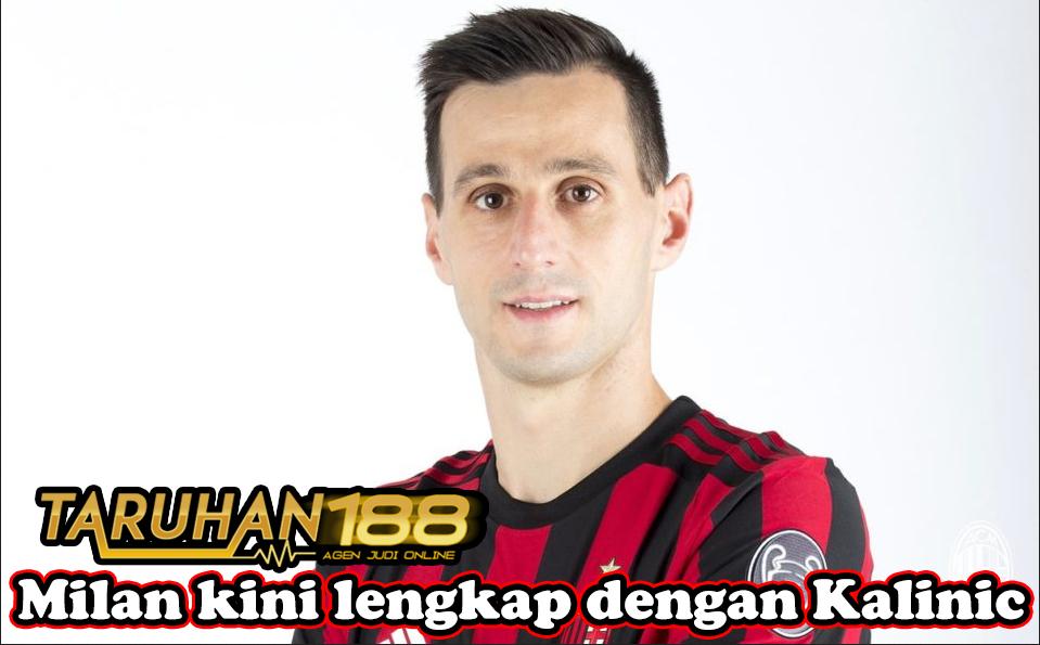 Milan kini lengkap dengan Kalinic