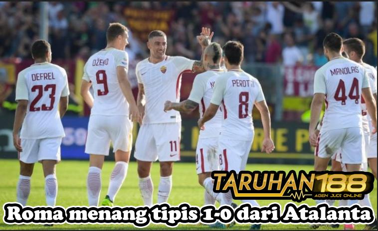 Roma menang tipis 1 0 dari Atalanta - Roma menang tipis 1-0 dari Atalanta
