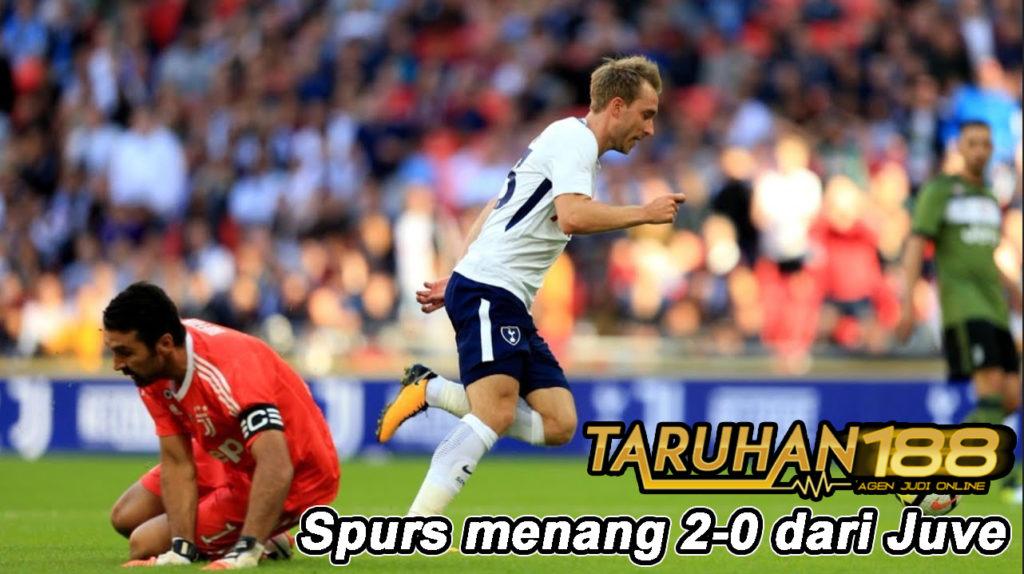 Spurs menang 2-0 dari Juve