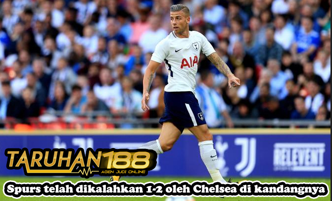 Spurs telah dikalahkan 1-2 oleh Chelsea di kandangnya