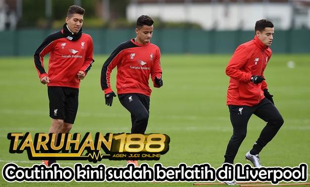 Coutinho kini sudah berlatih di Liverpool