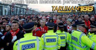 Fans Koln telah menunda pertandingan