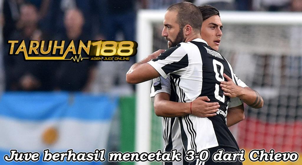 Juve berhasil mencetak 3-0 dari Chievo