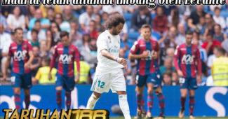 Madrid telah ditahan imbang oleh Levante