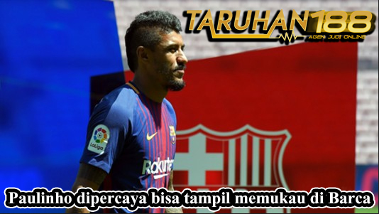 Paulinho dipercaya bisa tampil memukau di Barca