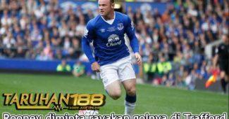 Rooney diminta rayakan golnya di Trafford