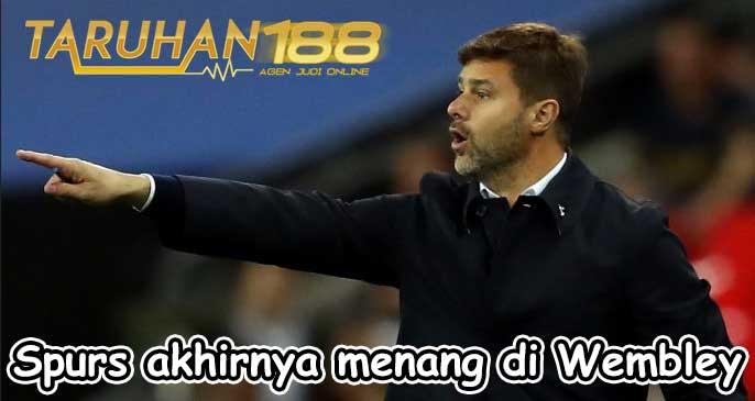 Spurs akhirnya menang di Wembley